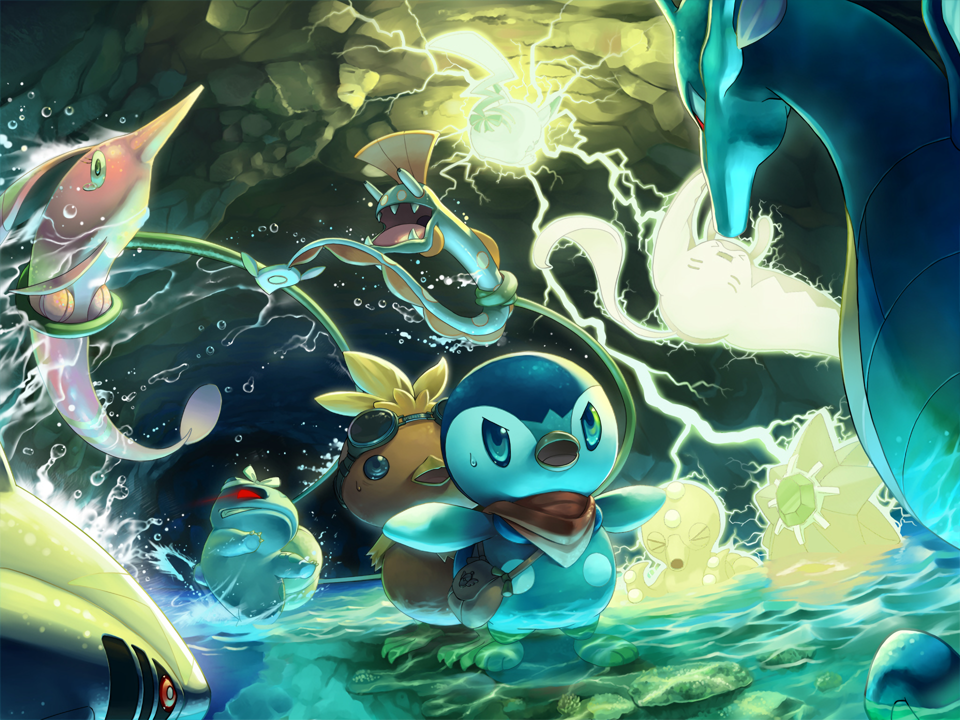 3 Pokemon Mystery Dungeon Explorers Of Sky Hd Wallpapers
