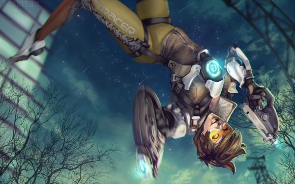 Video Game Overwatch Tracer HD Wallpaper | Background Image