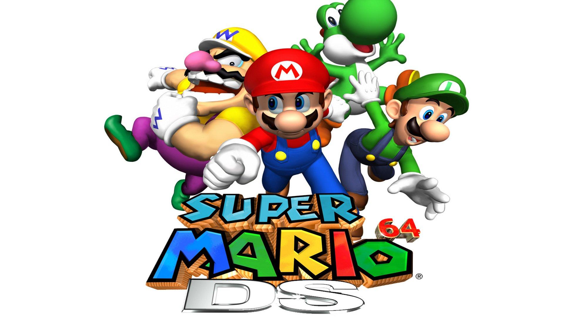 Video Game - Super Mario 64 Ds  Wallpaper