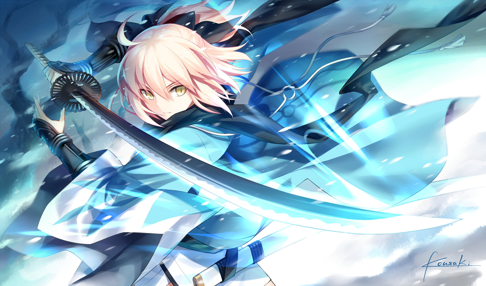 158 Sakura Saber Hd Wallpapers Background Images Wallpaper Abyss