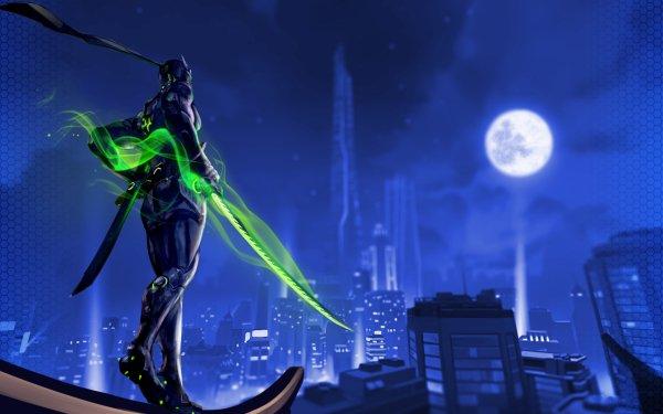 Video Game Overwatch Genji HD Wallpaper | Background Image