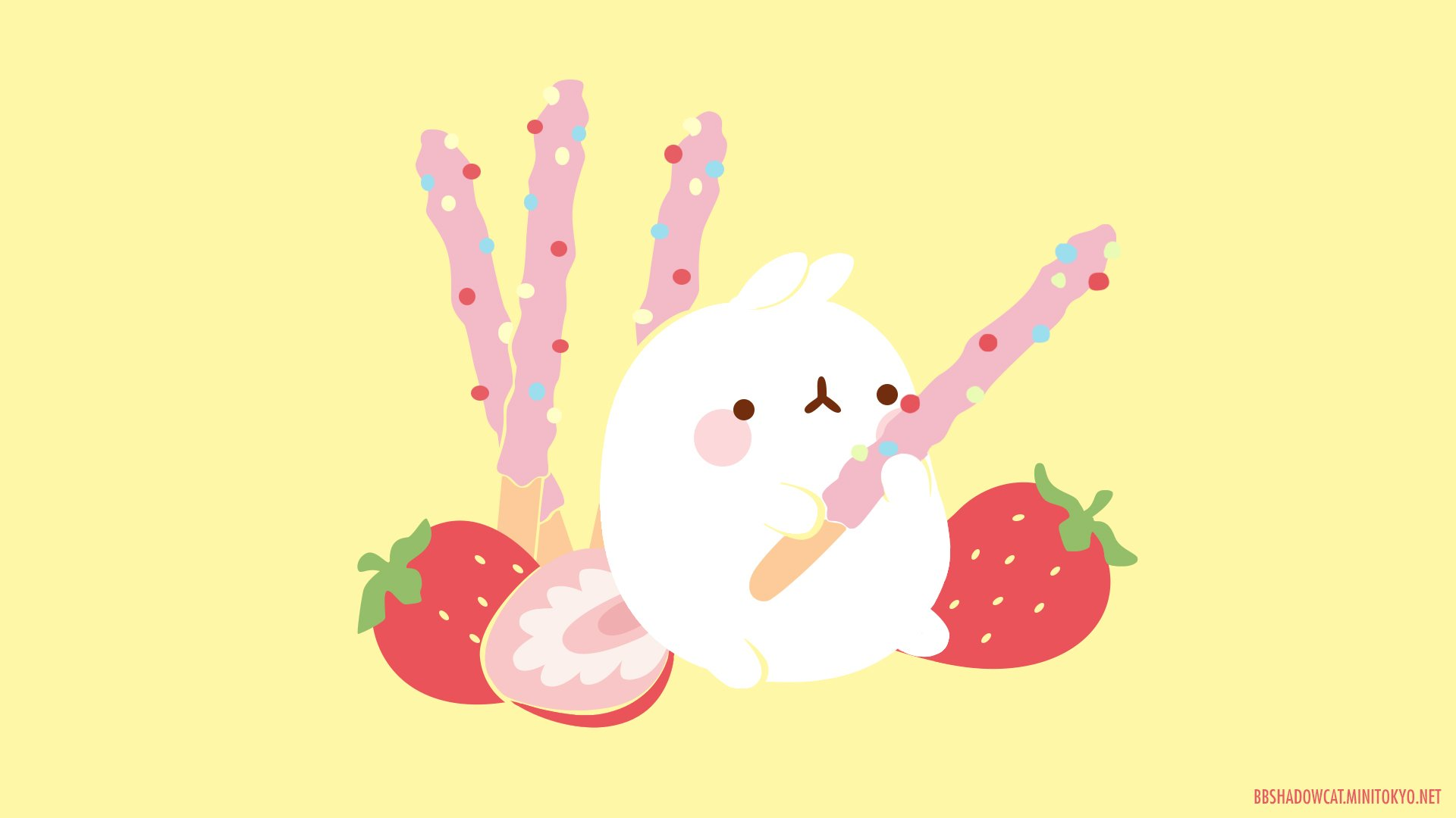 Molang Hd Wallpaper Background Image 1920x1080 Id 756667