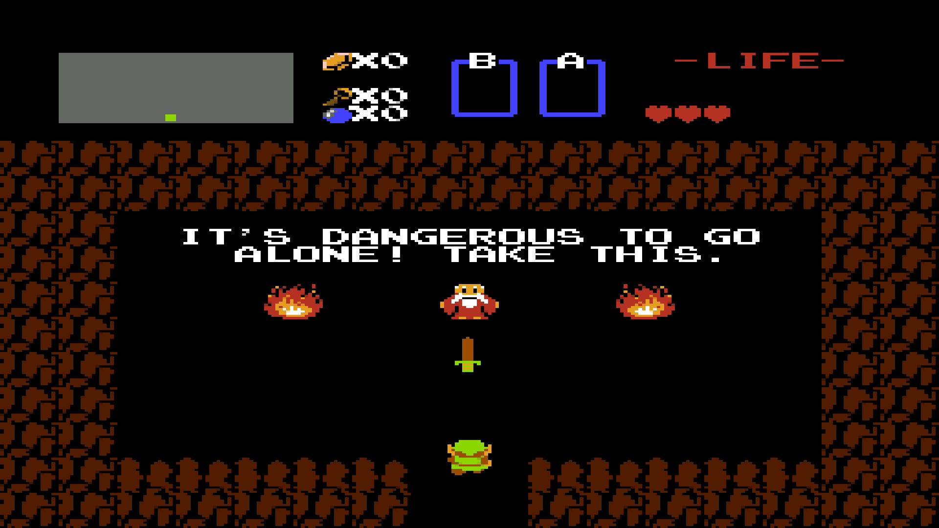 The Legend Of Zelda It S Dangerous To Go Alone Take This Hd