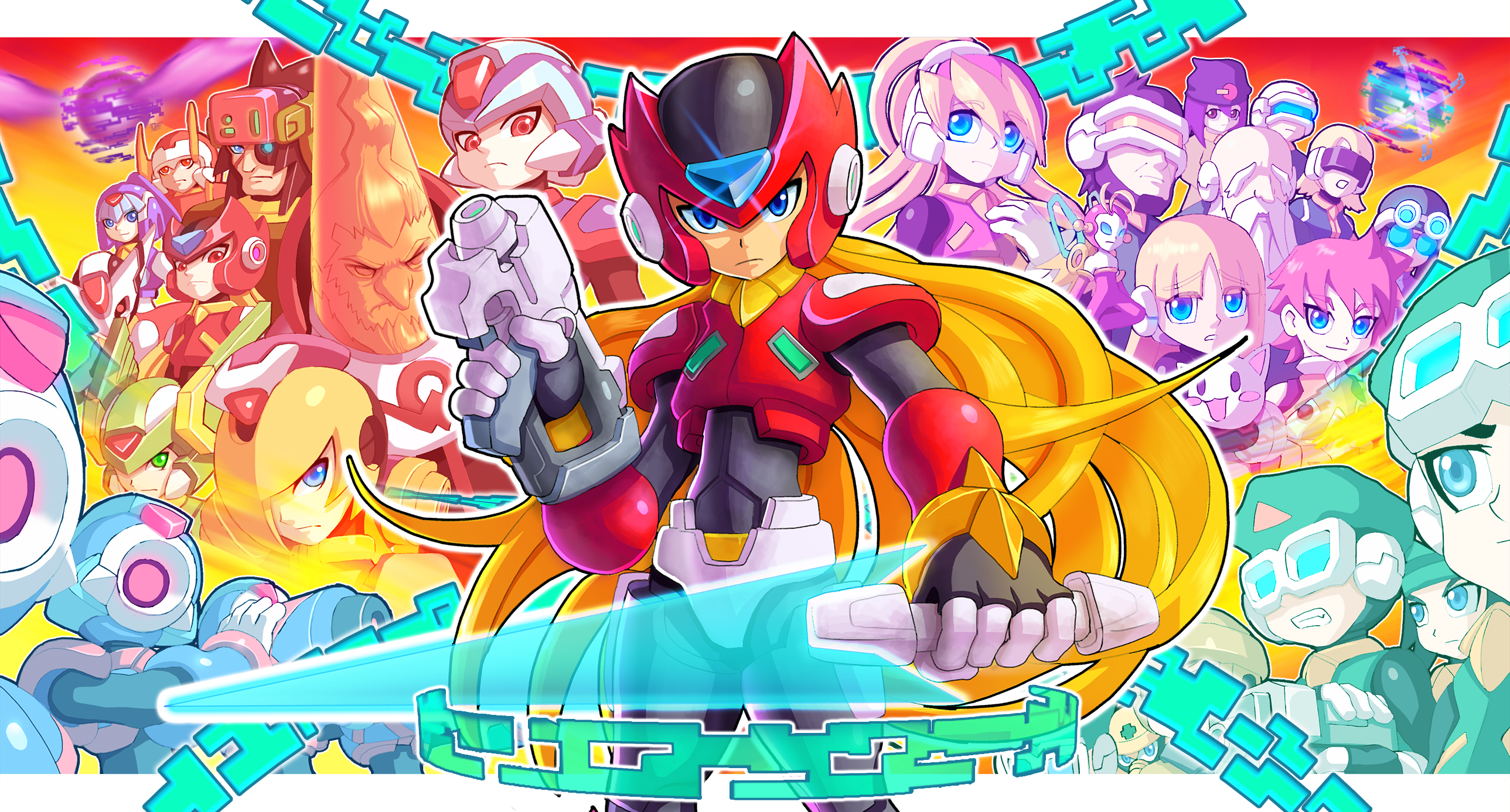 4 Mega Man Zero Collection Hd Wallpapers Background Images