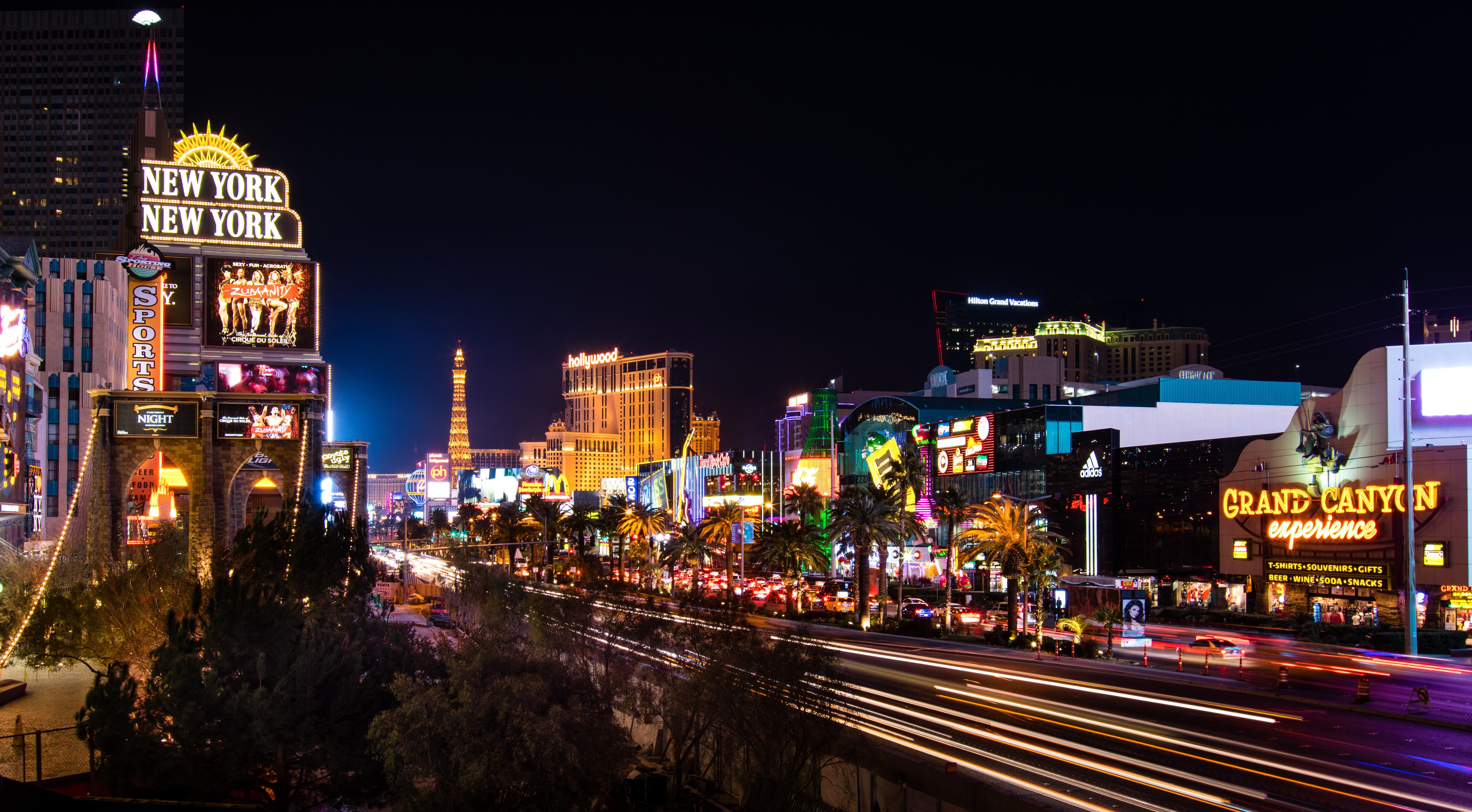 Las Vegas 5k Retina Ultra Hd Wallpaper Background Image