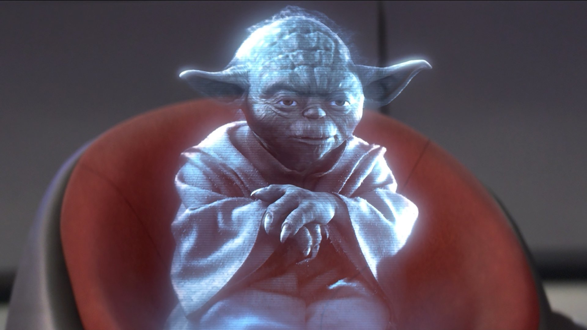 Movie - Star Wars Episode III: Revenge of the Sith  Yoda Hologram Wallpaper