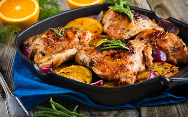 Food Chicken Meat HD Wallpaper | Background Image