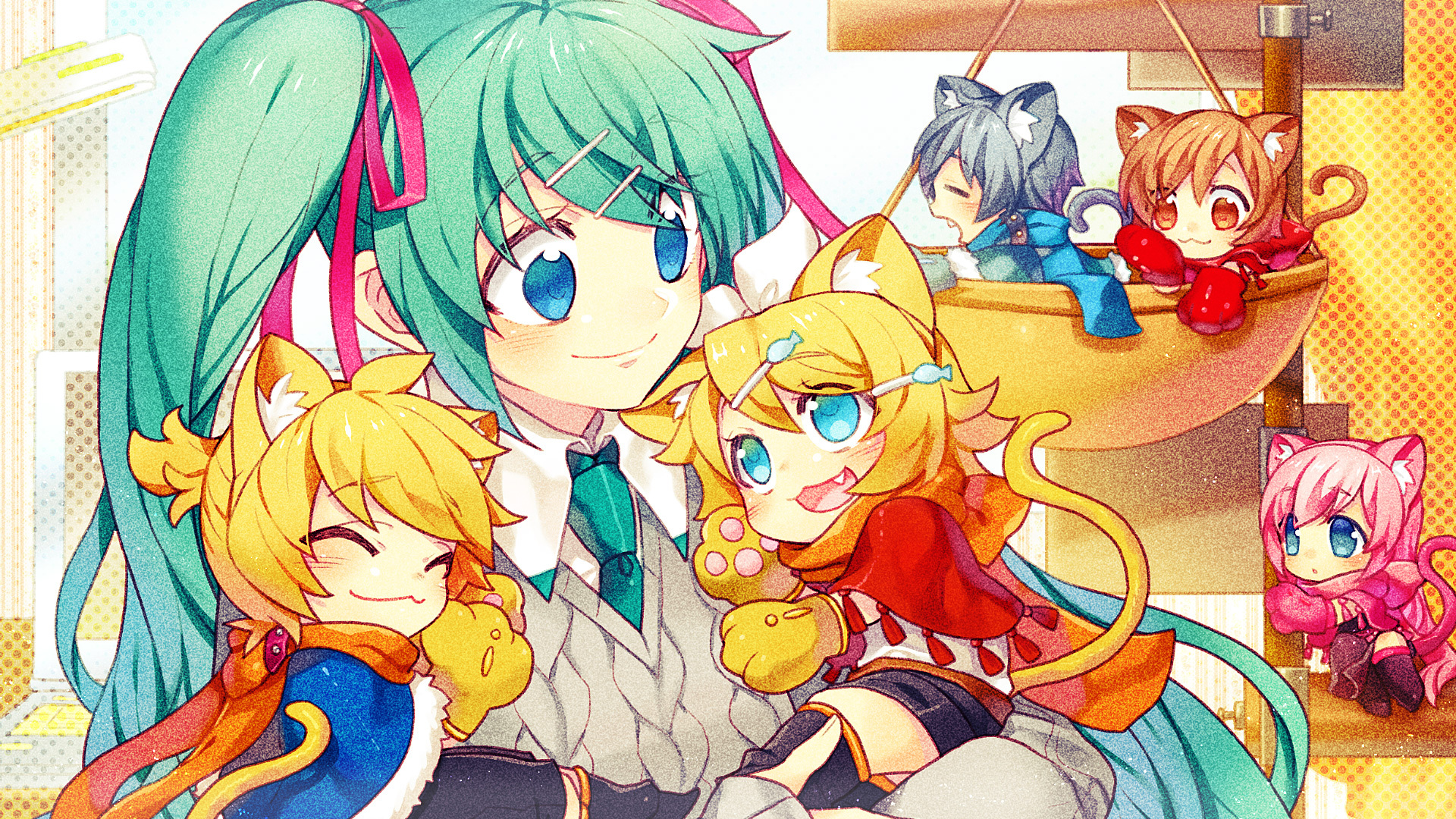Vocaloid Full HD Wallpaper And Background Image