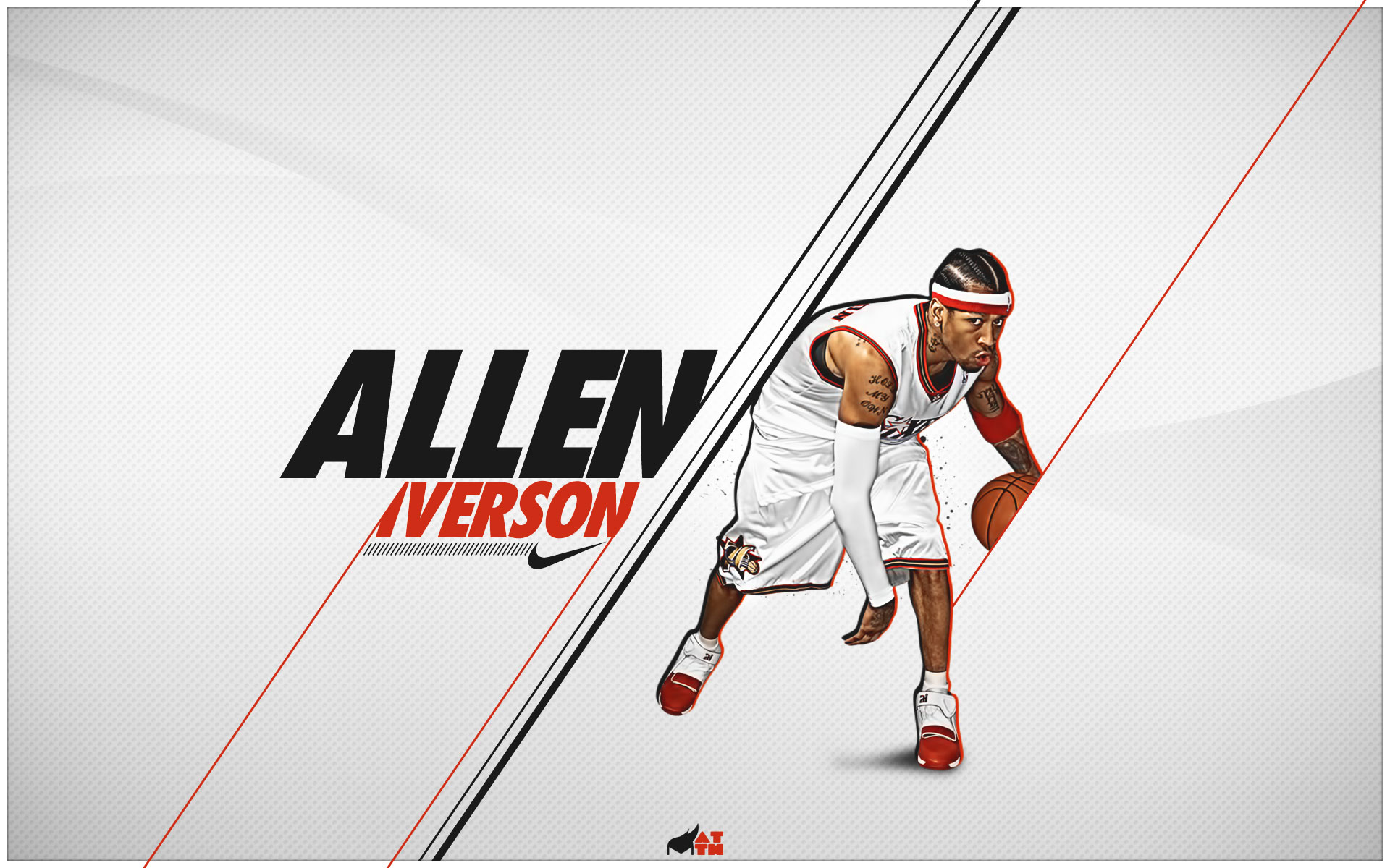 Allen Iverson Full HD Wallpaper And Background Image