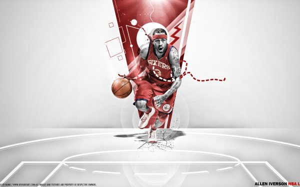 Sports Allen Iverson HD Wallpaper | Background Image