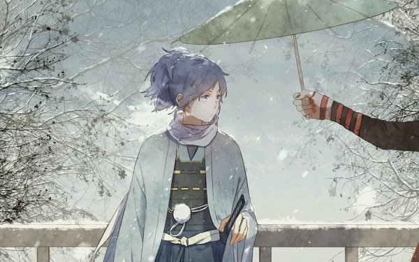 Anime Touken Ranbu Kashuu Kiyomitsu Yamato no Kami Yasusada HD Wallpaper   Background Image