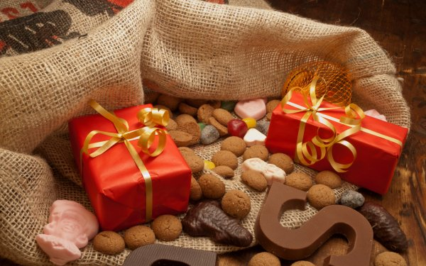 Photography Still Life Gift Chocolate Cookie HD Wallpaper | Background Image