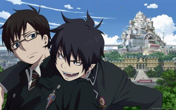 Anime Blue Exorcist Ao No Exorcist Rin Okumura Yukio Okumura HD Wallpaper | Background Image