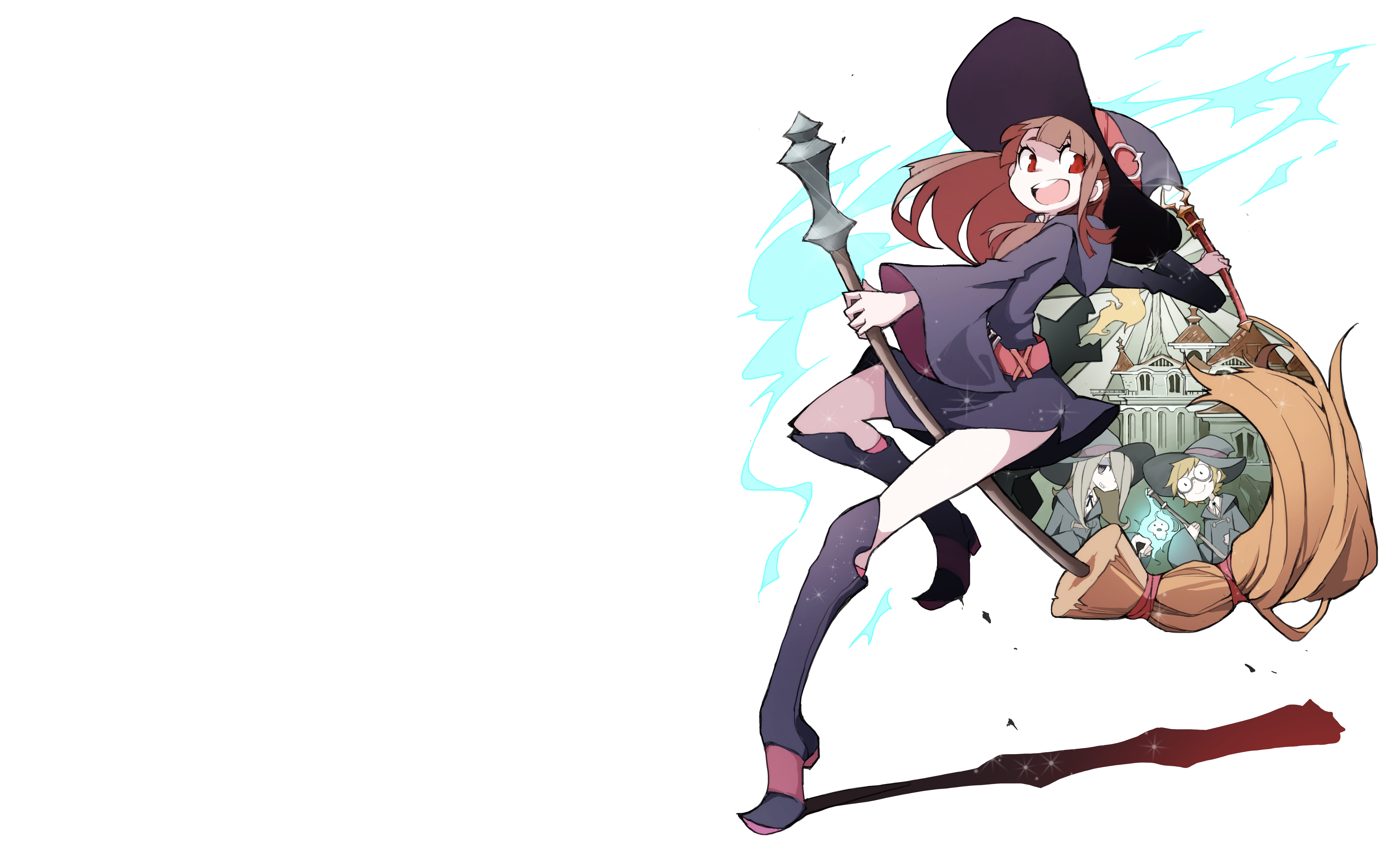 Little Witch Academia 4k Ultra Hd Wallpaper Background Image 4800x3000 Id 776069 Wallpaper Abyss