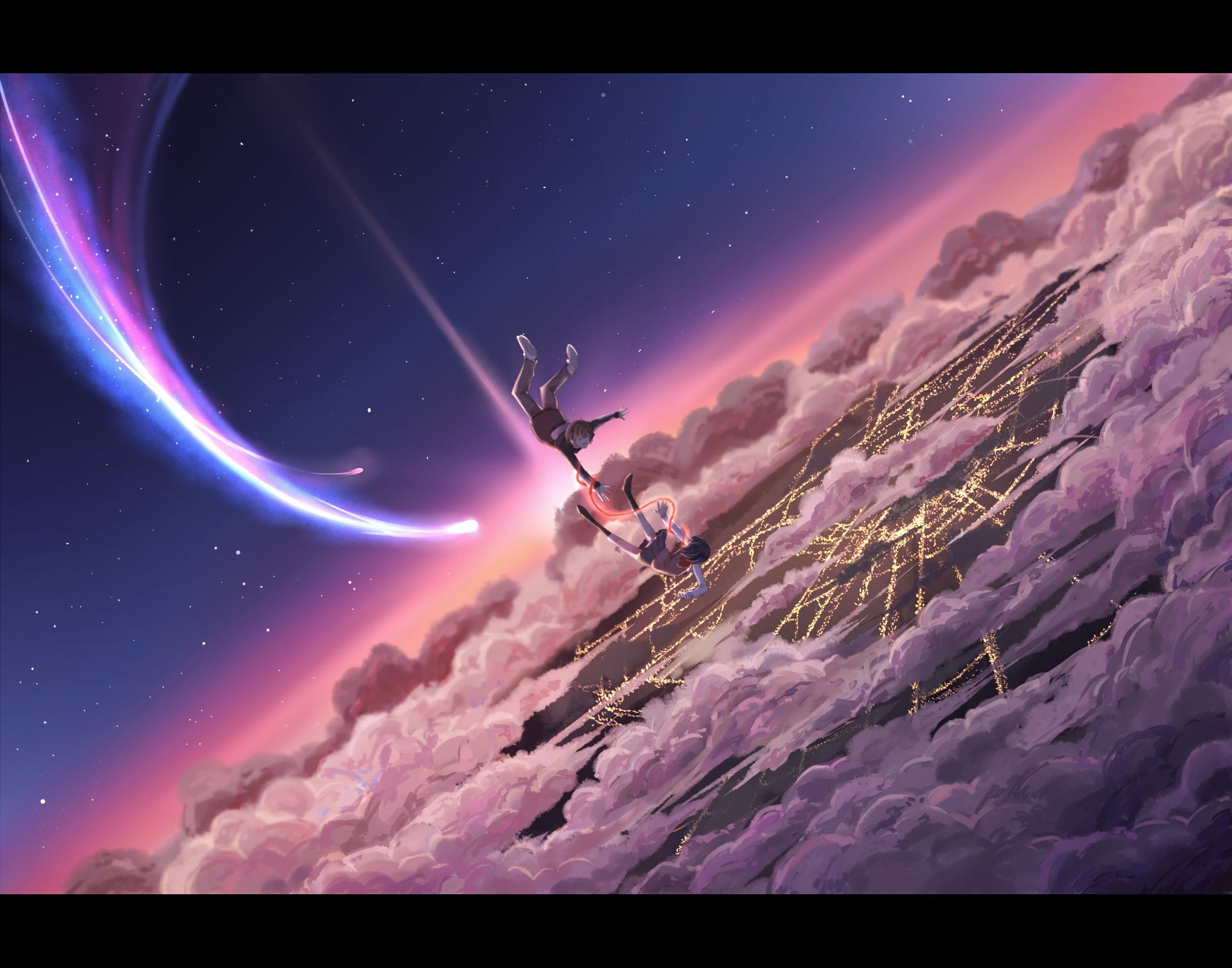 Hd wallpaper kimi no na wa - Kimi No Na Wa Mitsuha Miyamizu Hd Wallpaper Background Id 778054
