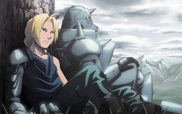 Anime FullMetal Alchemist Fullmetal Alchemist Edward Elric Alphonse Elric HD Wallpaper   Background Image