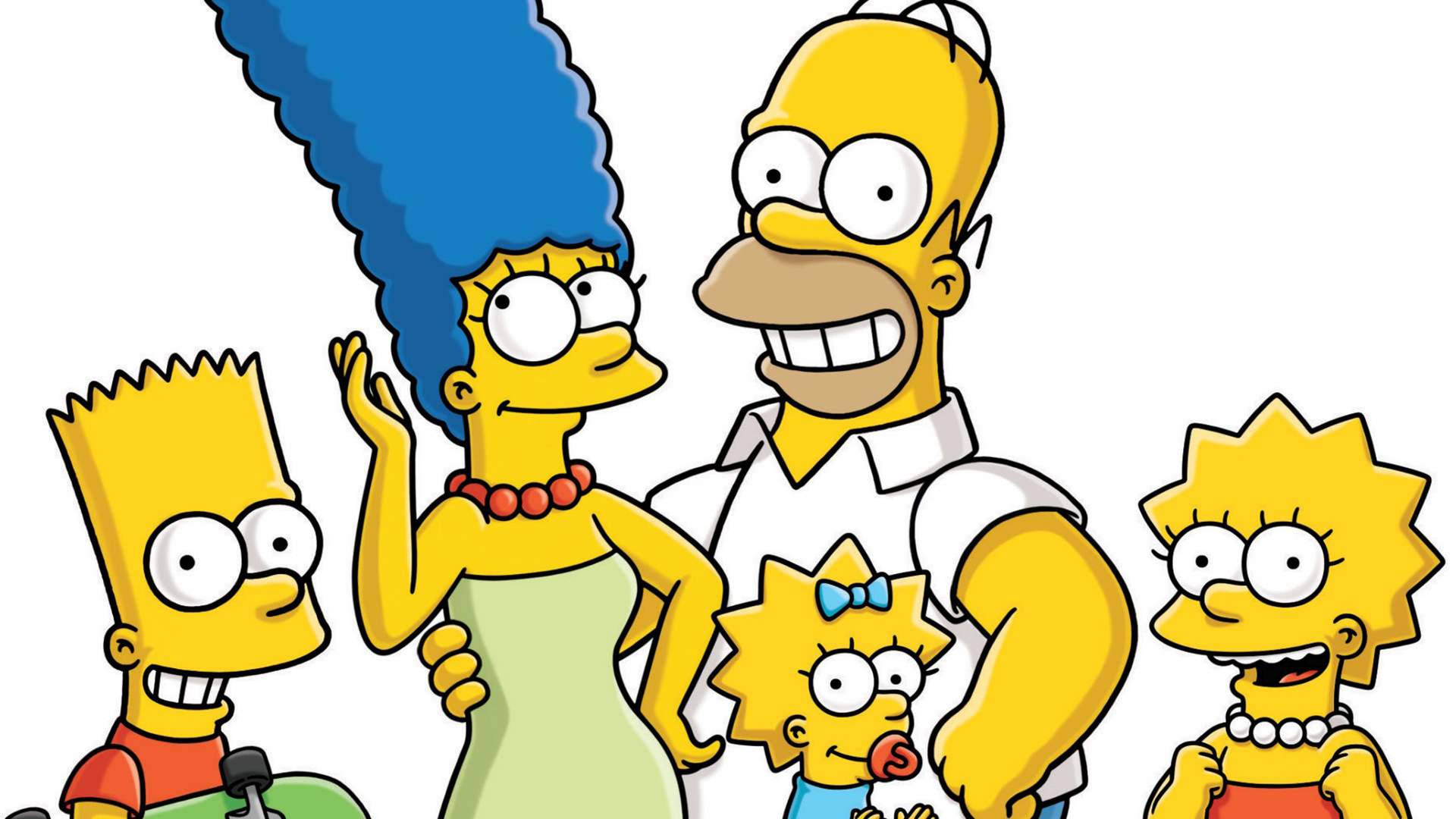 The simpsons hd wallpaper background image 1920x1080 id 779654 wallpaper abyss - Marge simpson et bart ...