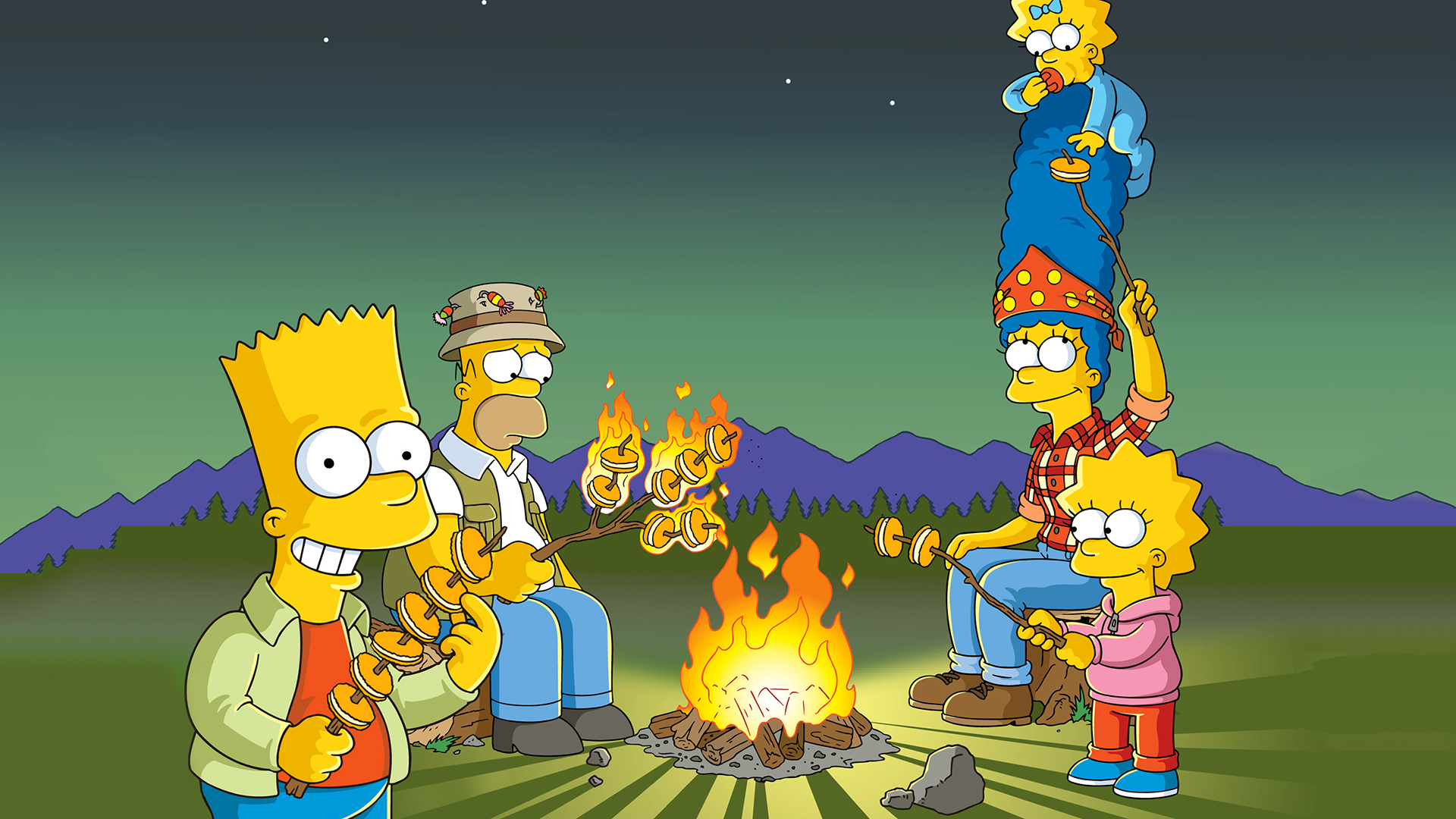 Os Simpsons Papel de Parede HD   Plano de Fundo   1920x1200
