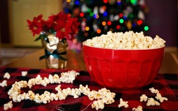 Food Popcorn Snack HD Wallpaper | Background Image