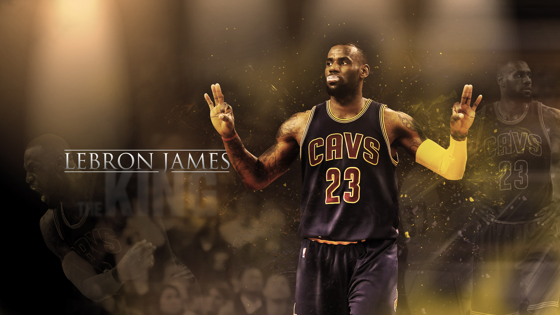 LeBron James HD Wallpaper