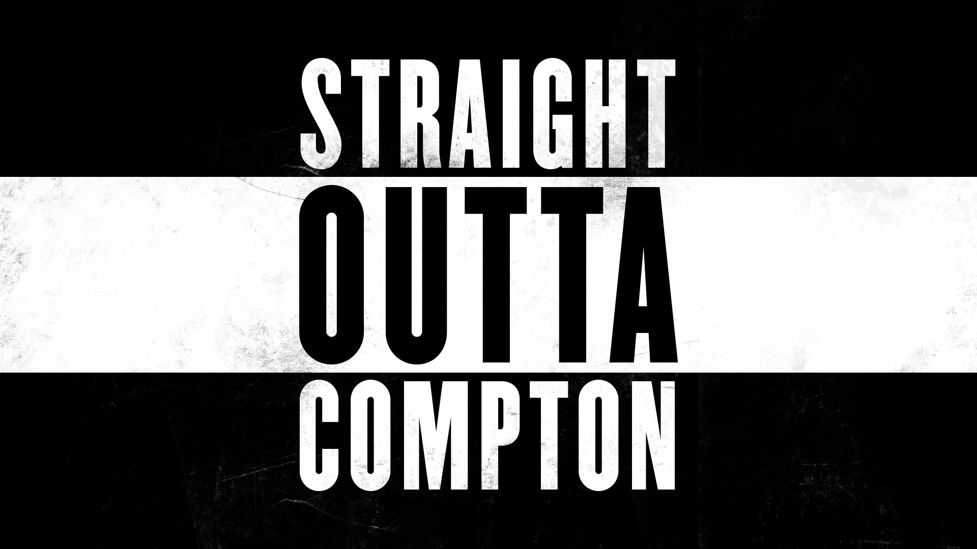 Straight Outta Compton Full HD Wallpaper And Background Image