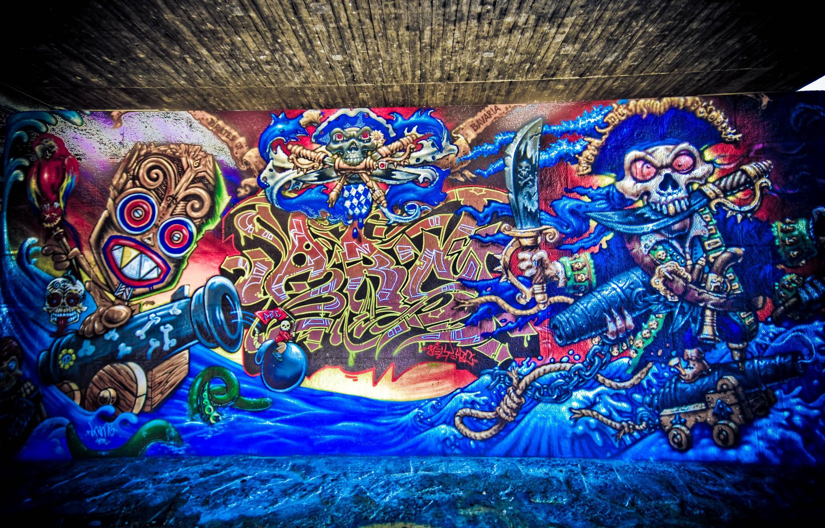 Graffiti HD Wallpaper | Background Image | 2663x1703 | ID:784394 - Wallpaper Abyss