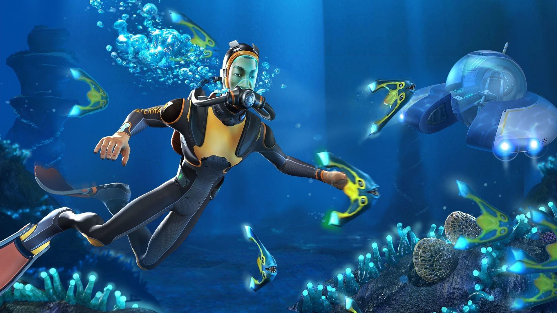 Video Game - Subnautica  Underwater Diver Wallpaper