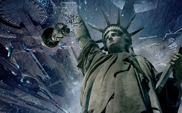 Movie Independence Day: Resurgence Statue of Liberty HD Wallpaper | Background Image