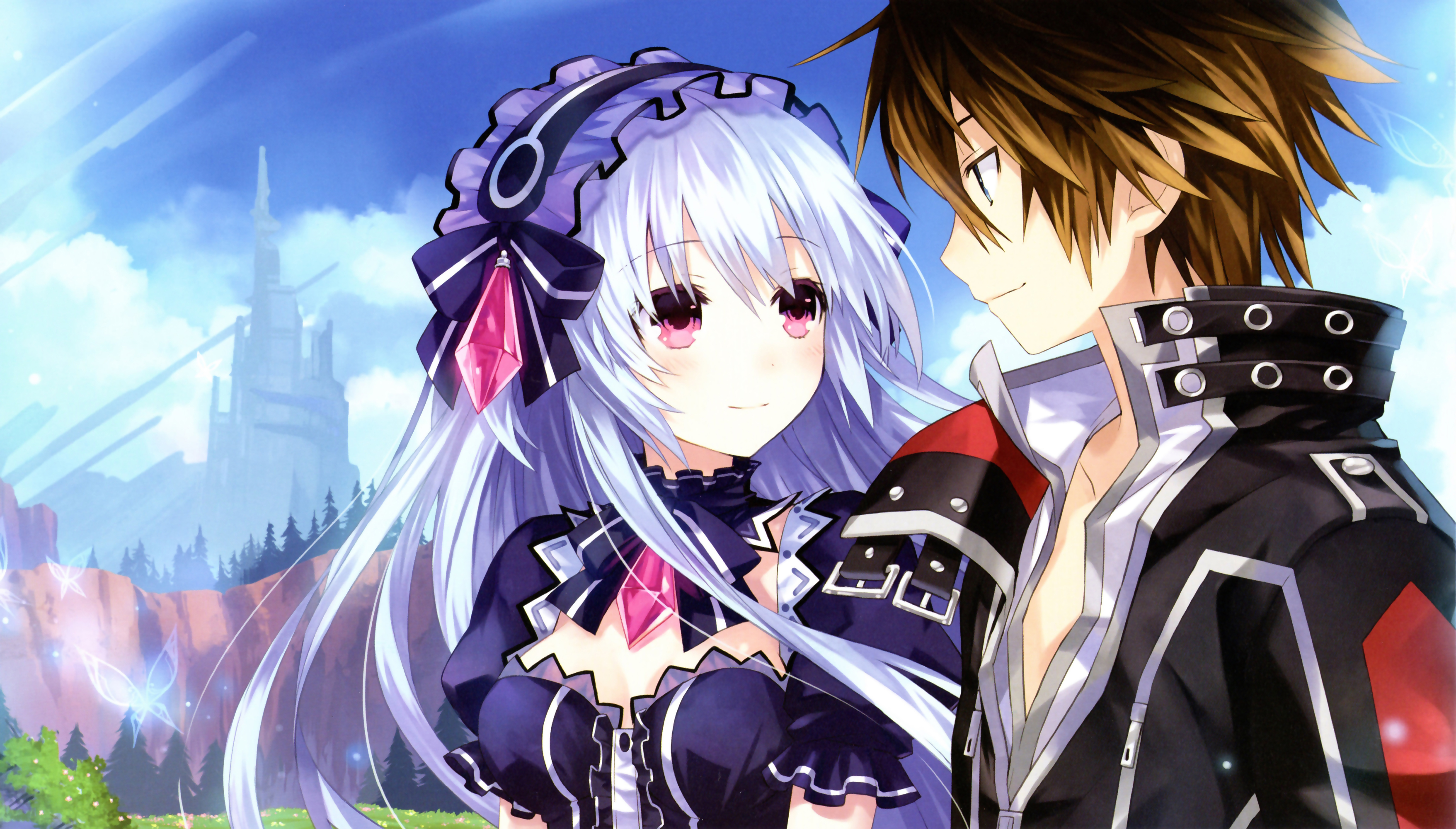 Tiara S Ending Goddess Route Hd Wallpaper Background Image 3513x2000 Id 785936 Wallpaper Abyss