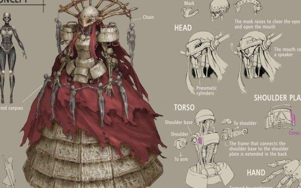 Jeux Vidéo NieR: Automata Concept Art Fond d'écran HD   Image