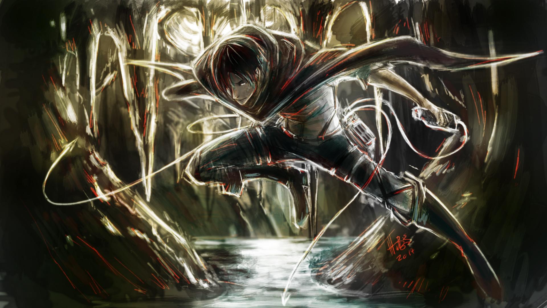 Attack On Titan Hd Wallpaper Hintergrund 1920x1080 Id