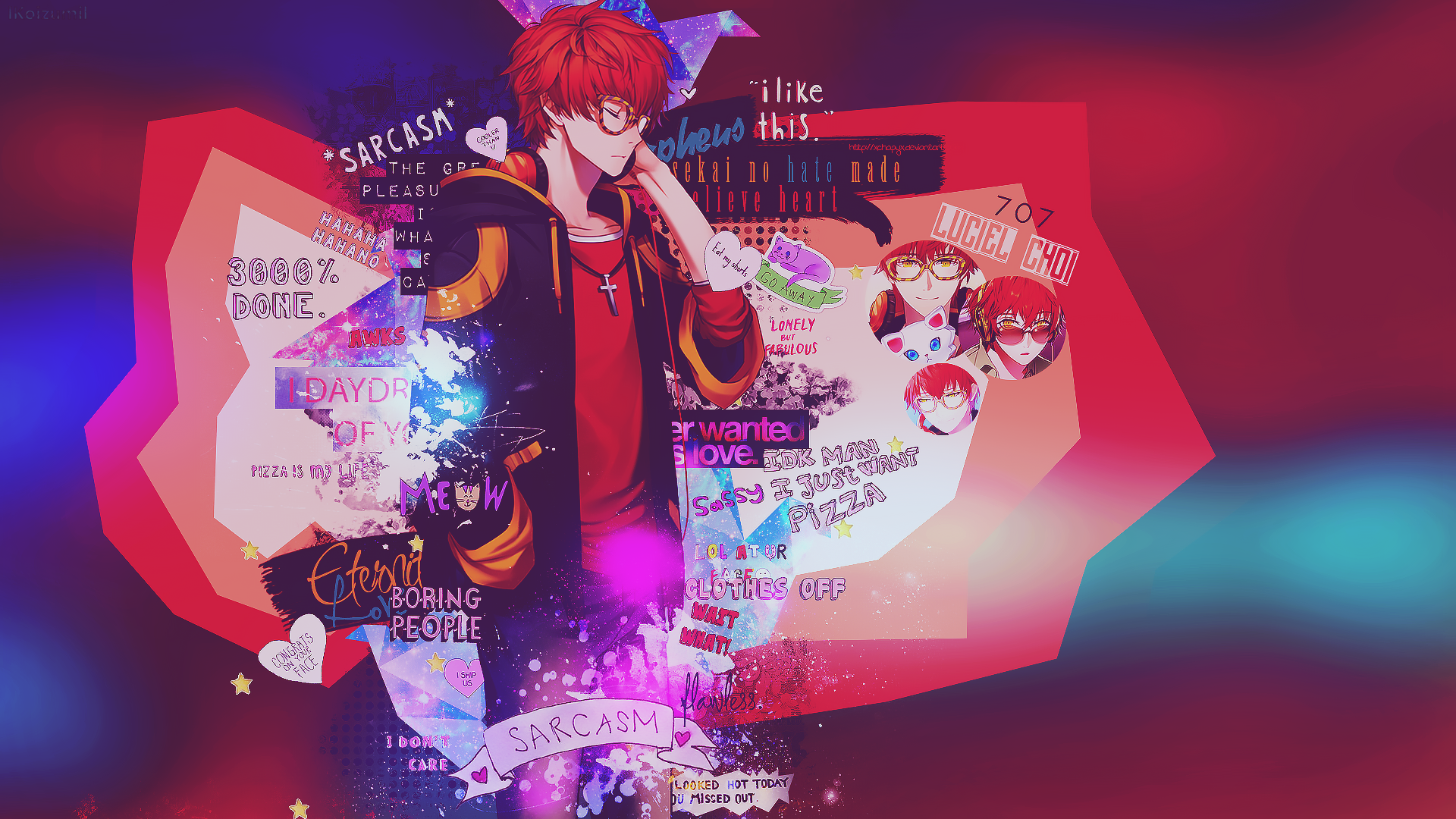 mystic messenger full hd wallpaper and background image