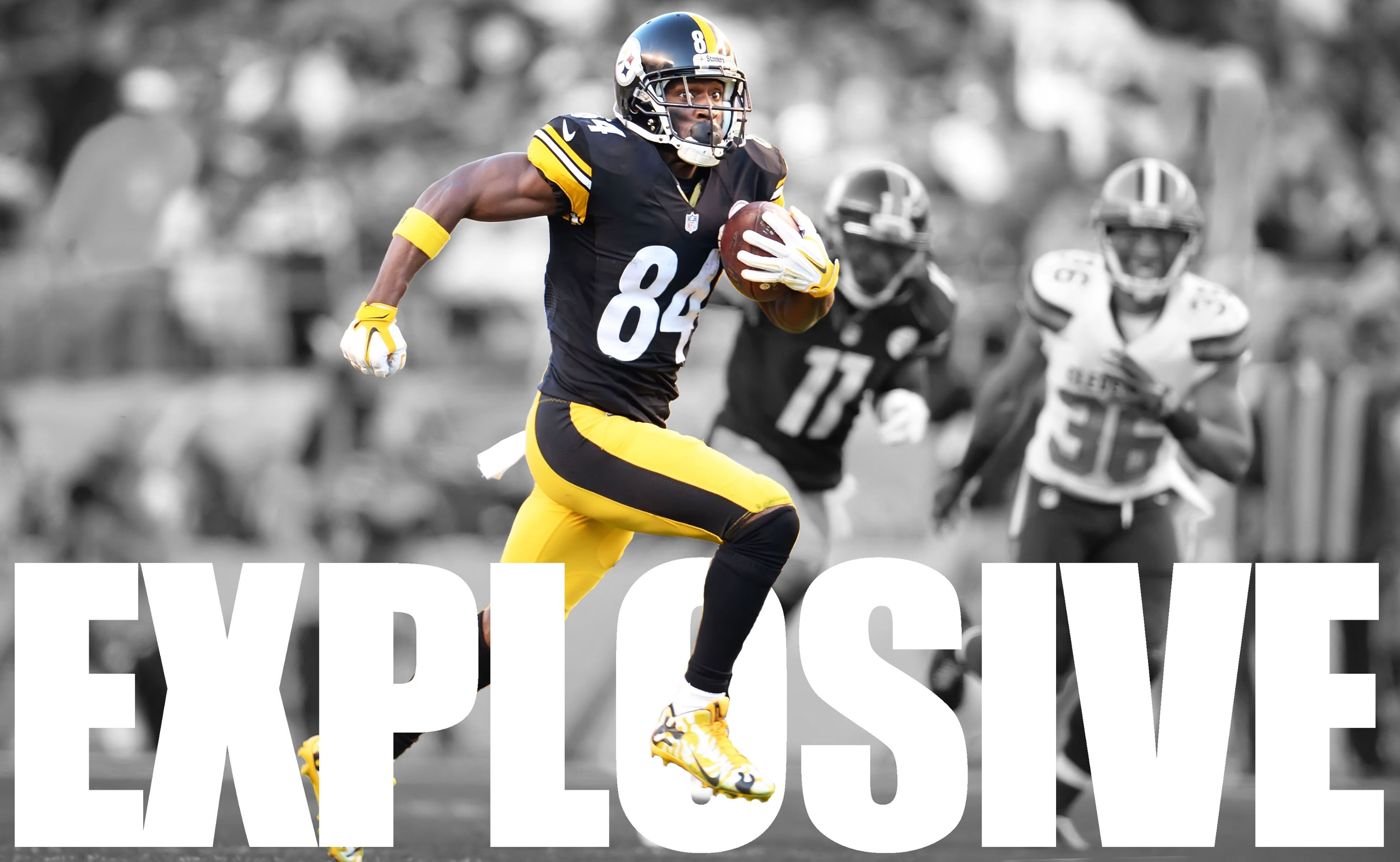 10 Antonio Brown Hd Wallpapers Background Images Wallpaper Abyss