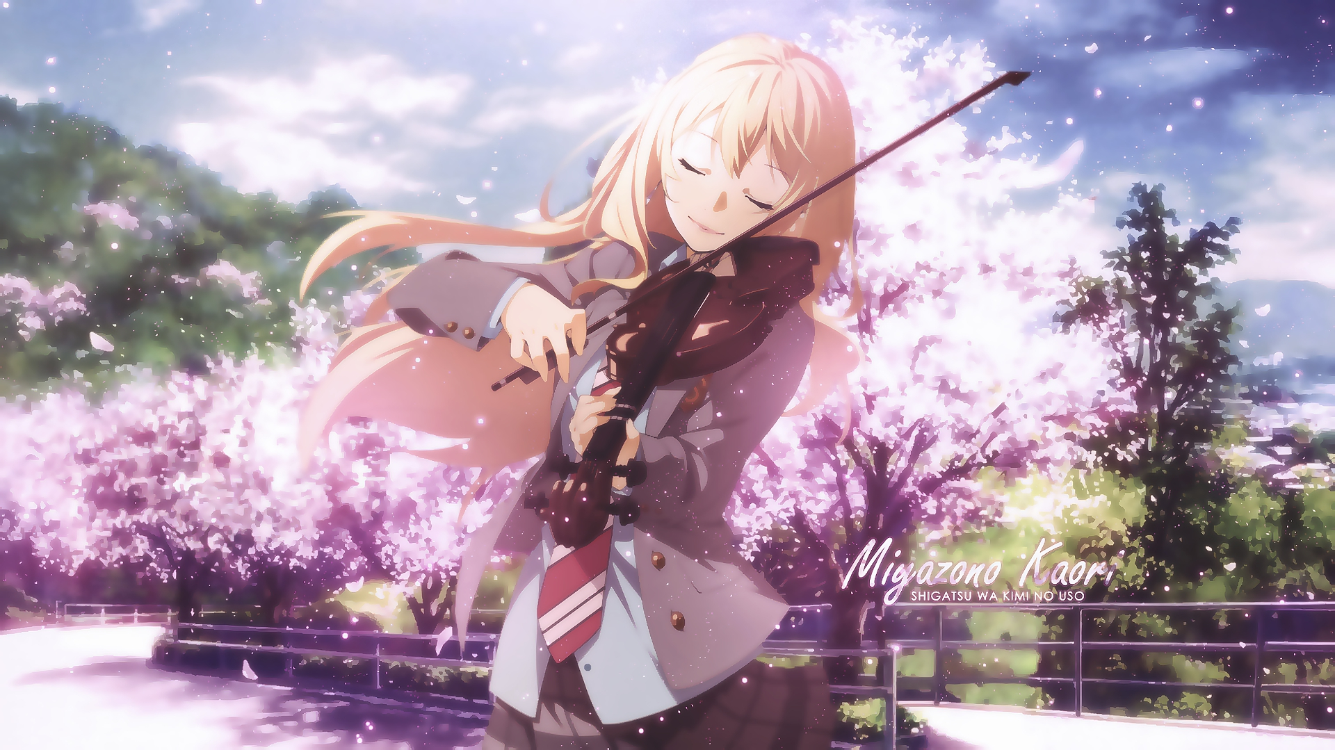 Your Lie In April Hd Wallpaper: Your Lie In April Wallpaper And Background Image