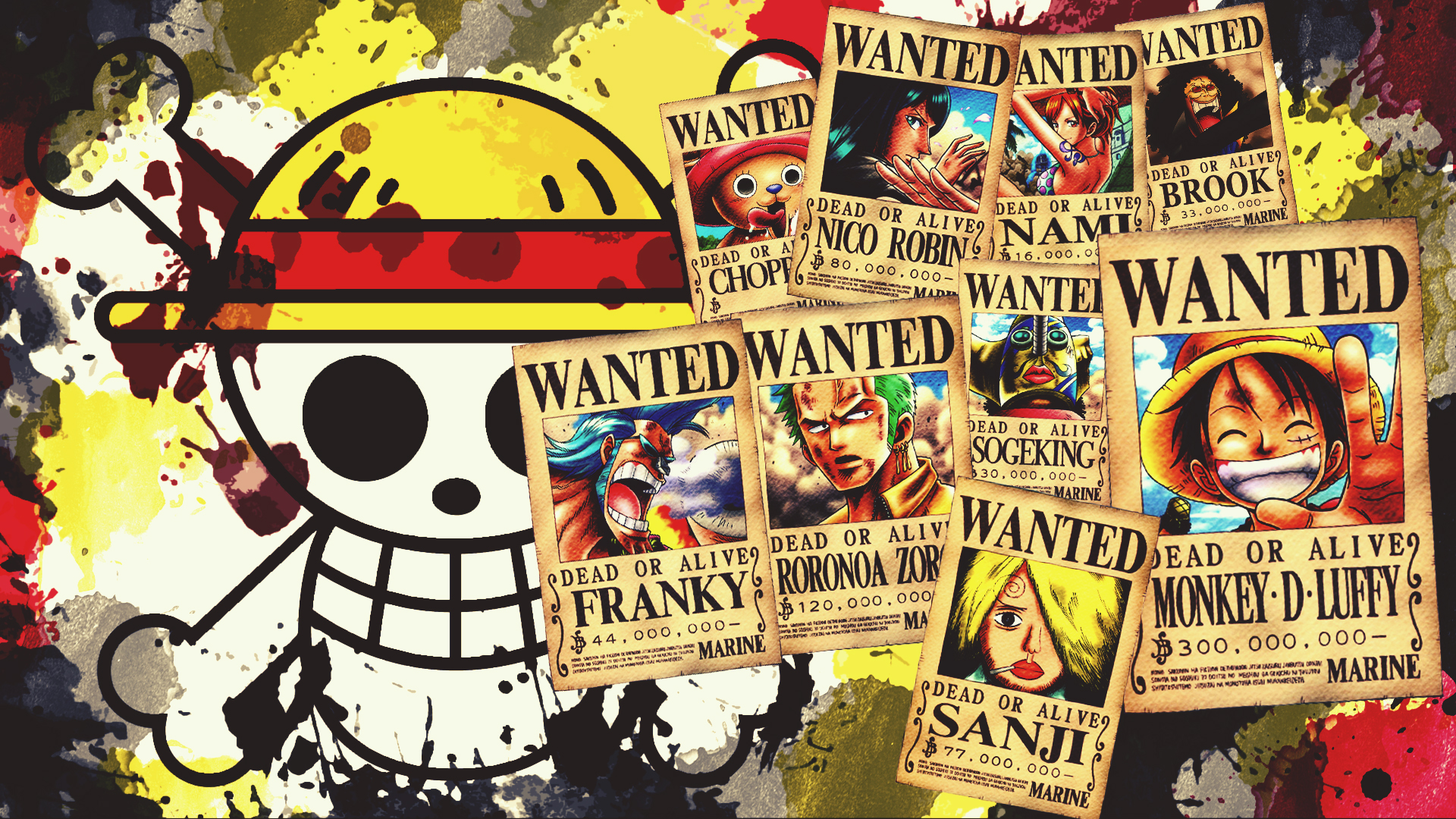 One Piece HD Wallpaper   Background Image   1920x1080   ID ...
