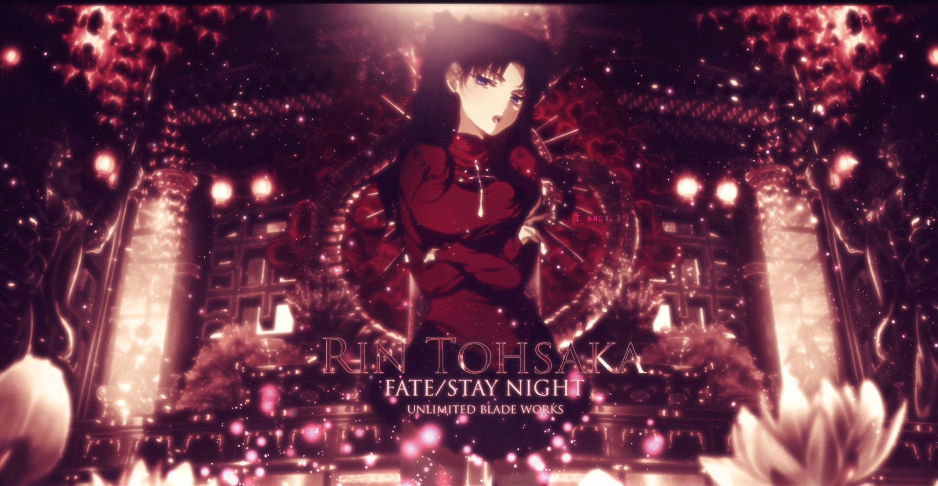 Anime - Fate/Stay Night  Rin Tohsaka Papel de Parede