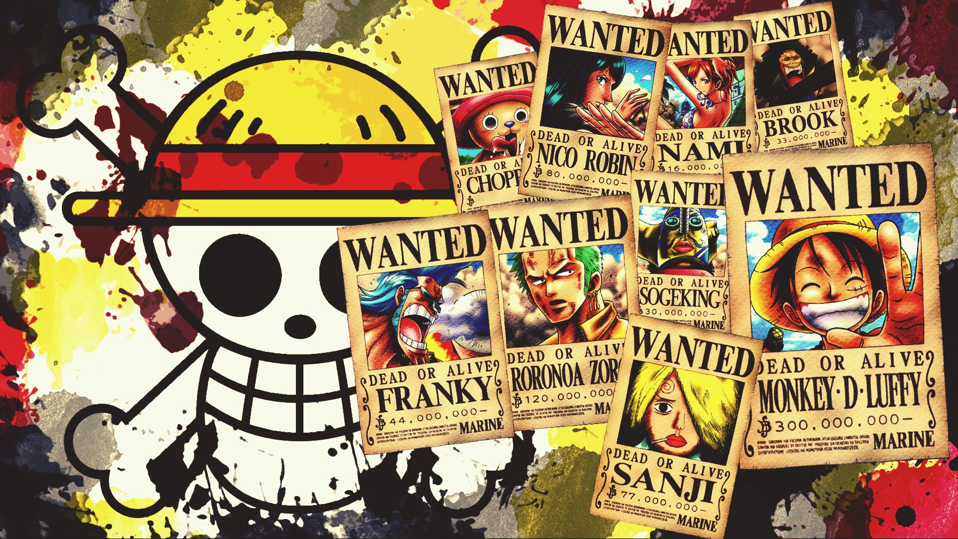 One Piece Fondo De Pantalla HD