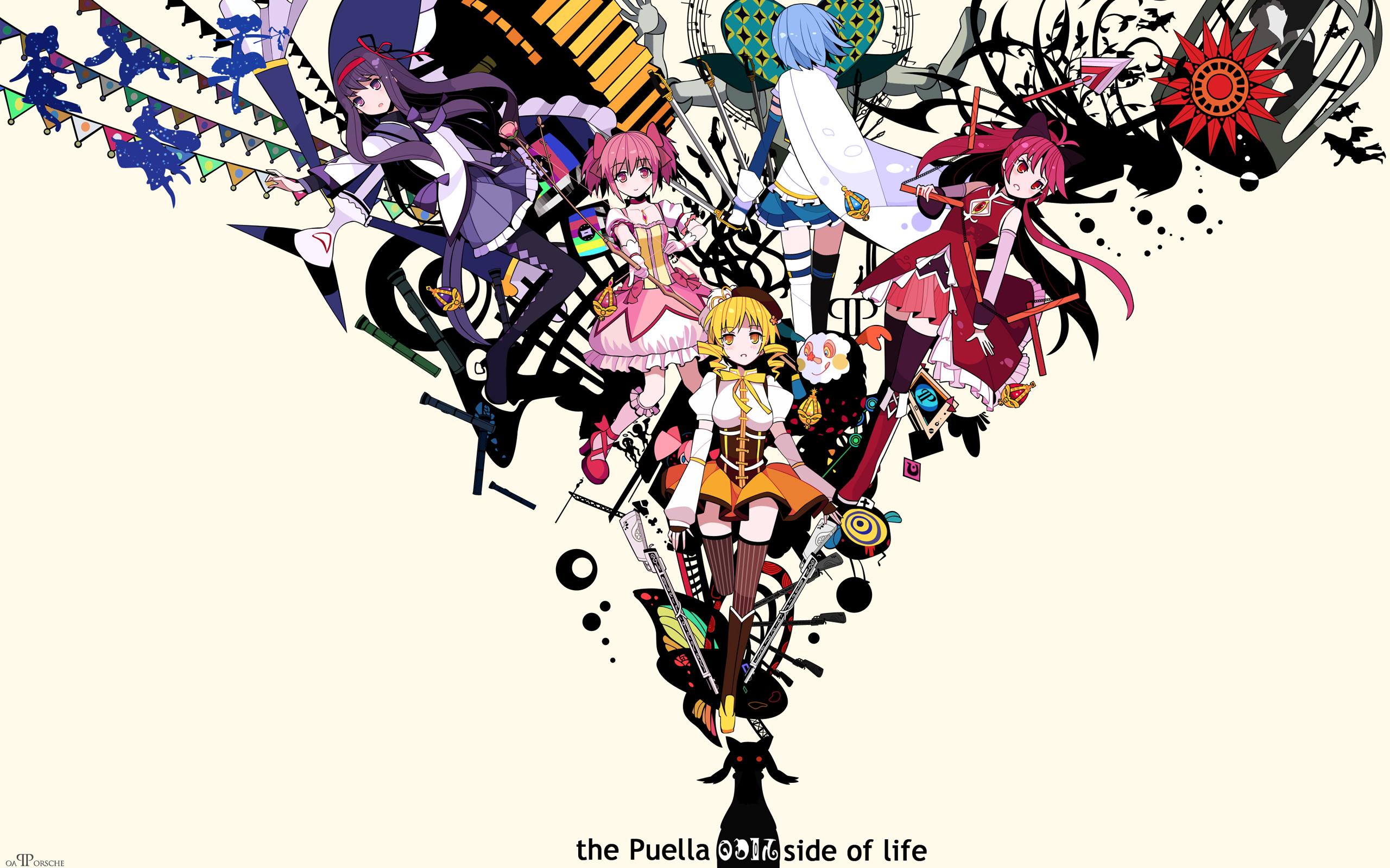 Puella Magi Madoka Magica Hd Wallpaper Background Image 2560x1600 Id 789182 Wallpaper Abyss
