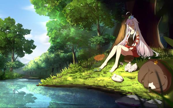 Anime Urara Meirochō HD Wallpaper | Background Image
