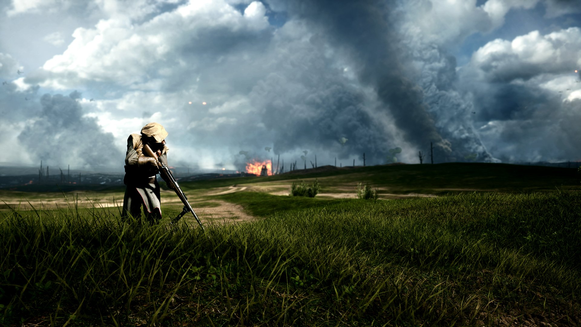 Battlefield 1 Tank Hunter HD Wallpaper   Background Image ...