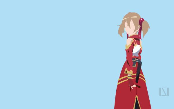 Anime Sword Art Online Keiko Ayano Silica Minimalist Fond d'écran HD | Image