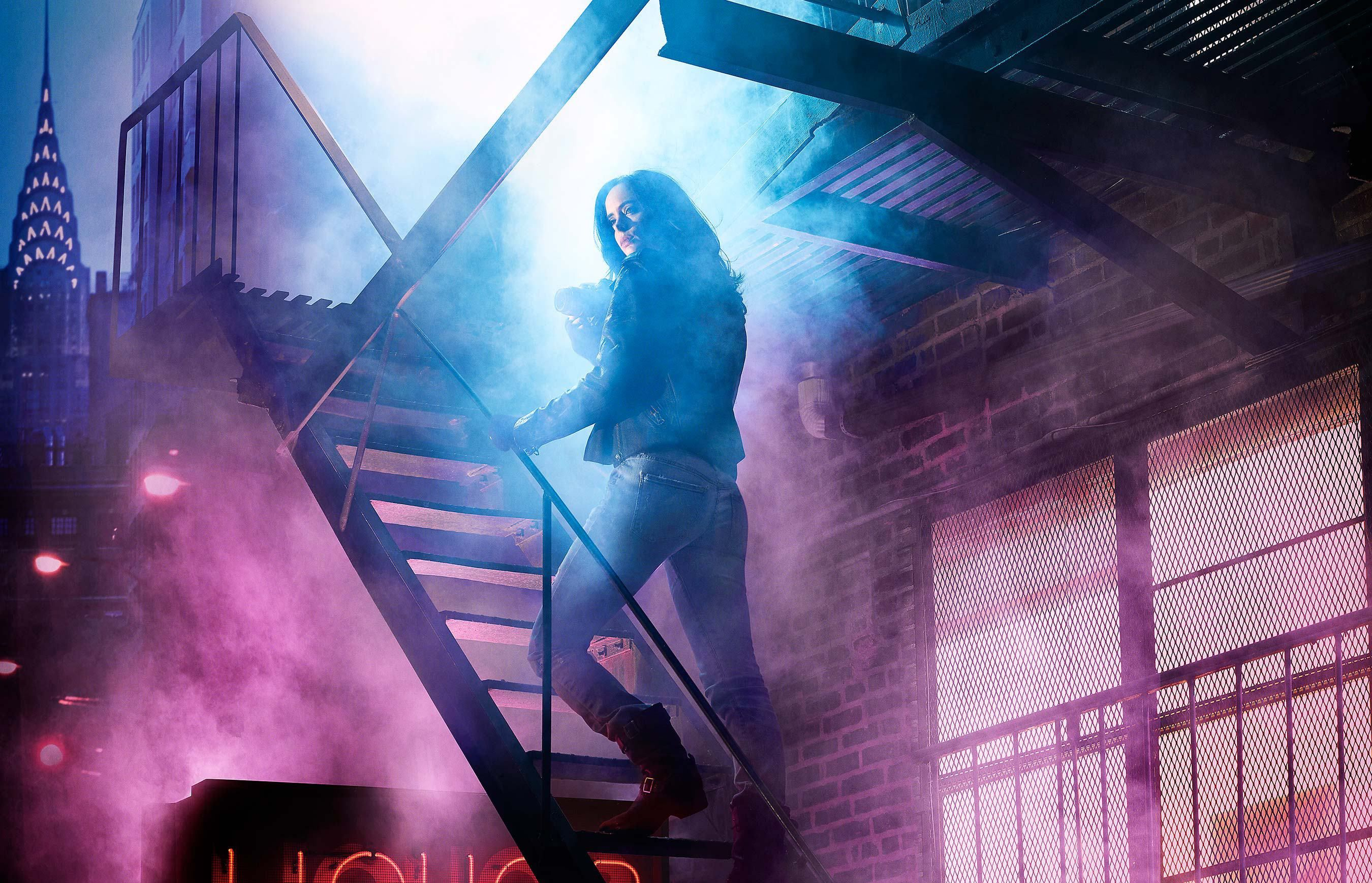 Jessica Jones Fondo De Pantalla Hd Fondo De Escritorio