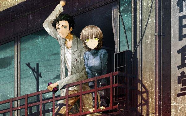Anime Steins;Gate Suzuha Amane Rintaro Okabe HD Wallpaper | Background Image