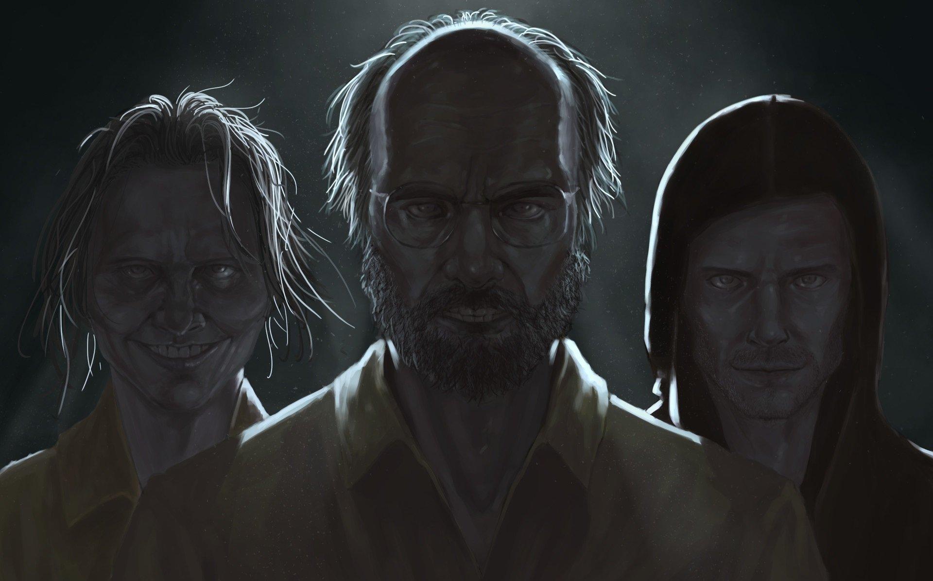 Video Game - Resident Evil 7: Biohazard  Jack Baker Lucas Baker Marguerite Baker Wallpaper
