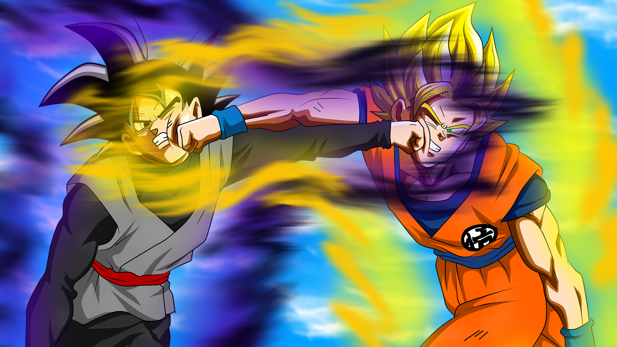 Black Goku Fondo De Pantalla And Fondo De Escritorio: 75 Black Goku Fondos De Pantalla HD