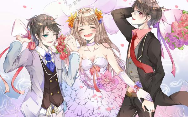 Anime Fukumenkei Noise HD Wallpaper | Background Image