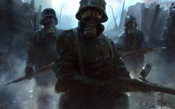 Video Game Battlefield 1 Battlefield Gas Mask HD Wallpaper | Background Image