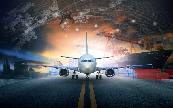 Vehicles Aircraft Passenger Plane Artistic Ship HD Wallpaper | Background Image