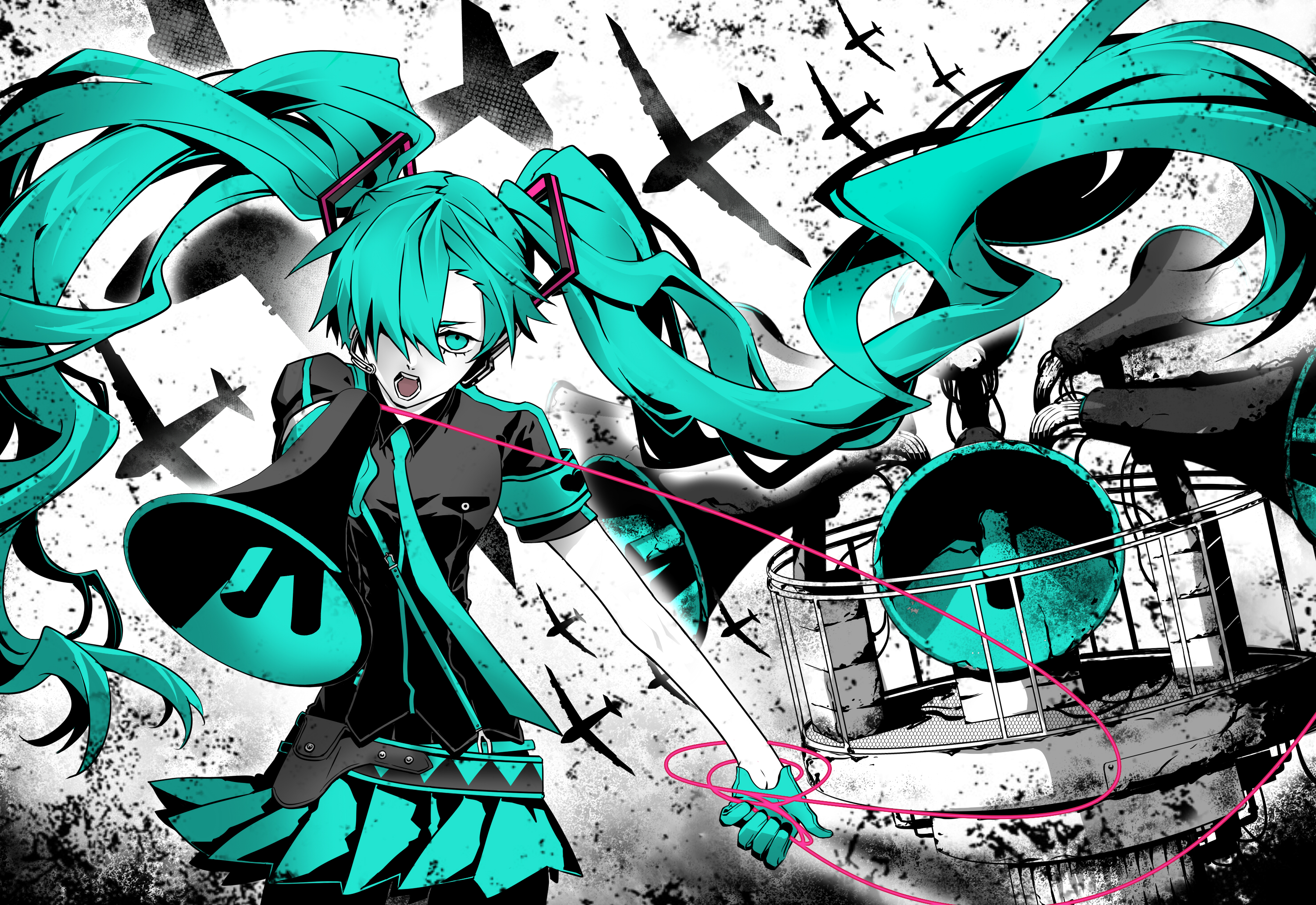 Vocaloid Full HD Wallpaper and Background | 2952x2031 | ID ...