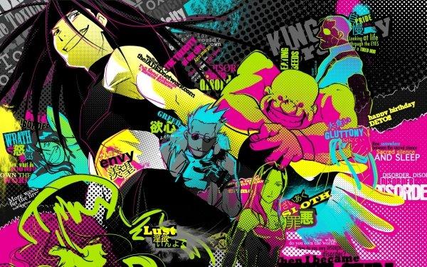 Anime FullMetal Alchemist Fullmetal Alchemist Envy Lust Wrath Gluttony Pride Greed Sloth HD Wallpaper | Background Image
